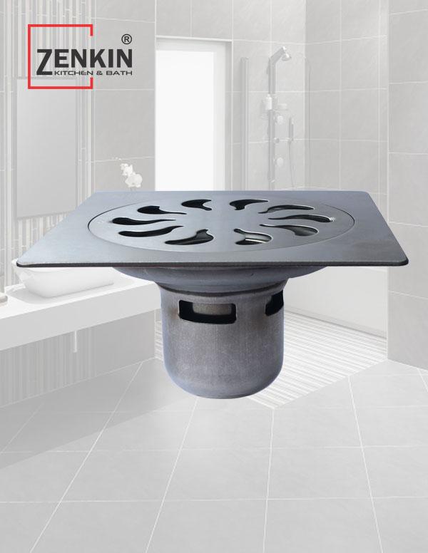 Phễu thoát sàn chống mùi inox304 ZK9322