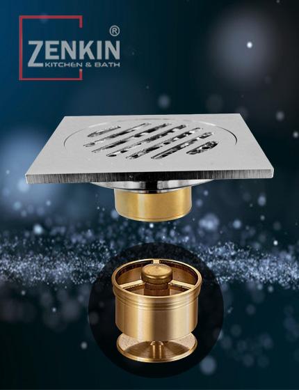 Thoát sàn chống mùi Zenkin ZK9508V